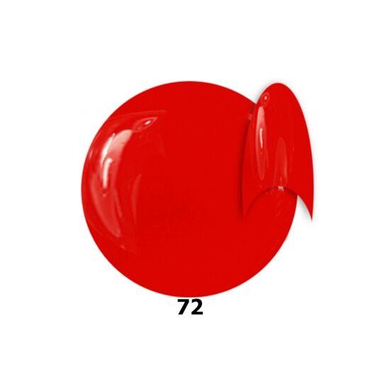 INS gél lakk 72. narancsos piros