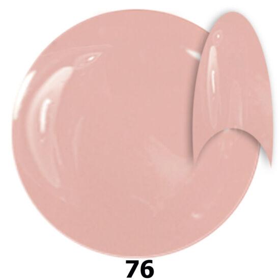 INS gél lakk 76. világos rózsíszín 15ml