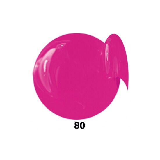 INS gél lakk 80. lilás pink