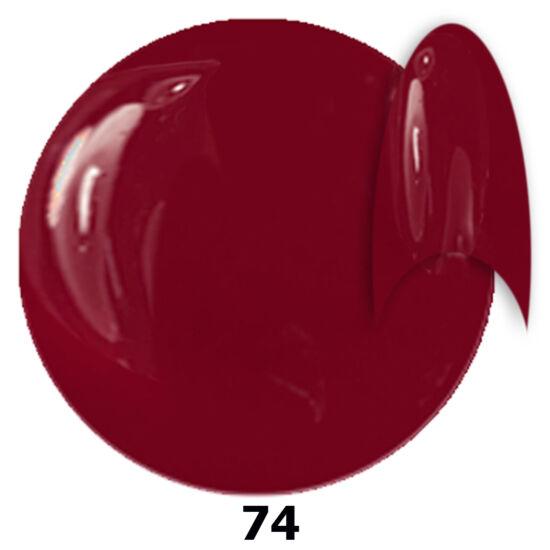 INS gél lakk 74. gesztenyebordó