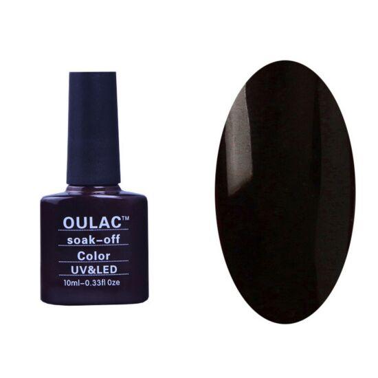 Oulac gél lakk 10 - lilásfekete - fedő