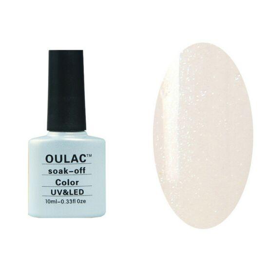 Oulac gél lakk 20 - csillám effect - áttetsző