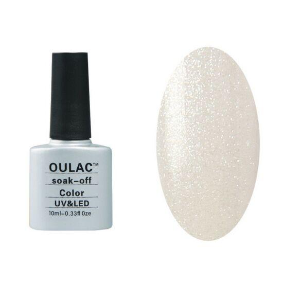 Oulac gél lakk 35 - silver effect - áttetsző
