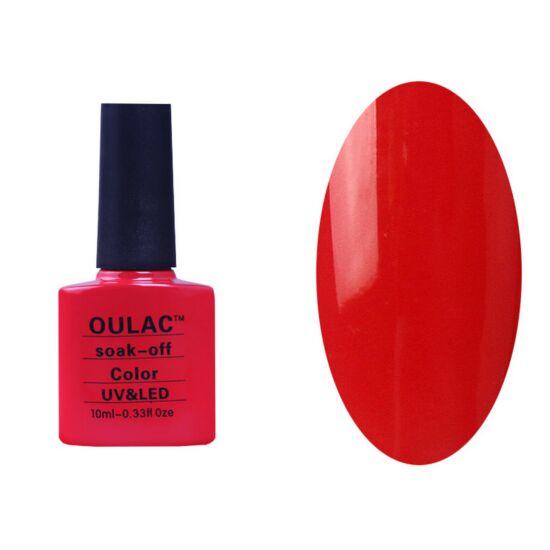 Oulac gél lakk 52 - pinkes piros - fedő