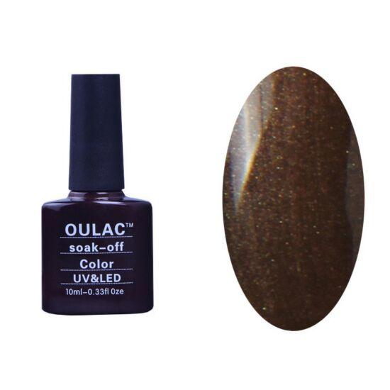 Oulac gél lakk 56 - gyöngyház őszi barna - fedő