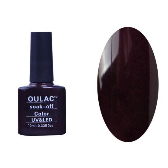 Oulac gél lakk 59 - extrém sötét lila - fedő