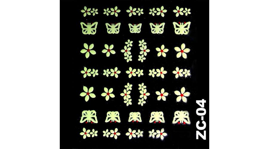 Körömmatrica ZC-04 - Körömmatricák